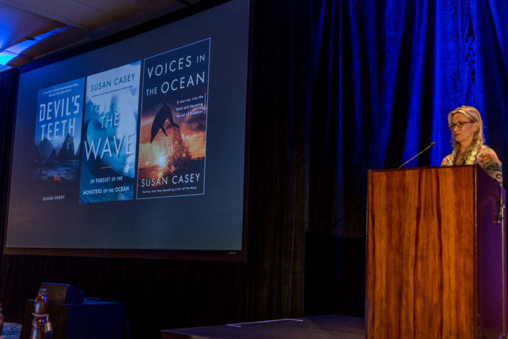 Best-Selling Author Susan Casey presenting at Whale Tales 2016